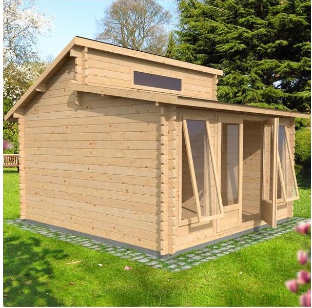 Log cabin review waltons deco log cabin best garden for Garden log cabins uk
